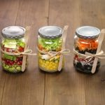 a way to % the right Mason Jar Salad