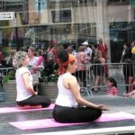 global Yoga Day: the big apple Celebrates Yoga Day with 'thoughts Over insanity'
