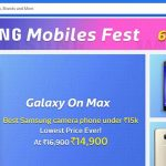 Samsung Galaxy S7 at Rs. 29,990 in Samsung Mobiles Fest Sale on Flipkart